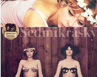 Daisies / Sedmikrasky (D) | 60s Czech Cinema, Vera Chytilova | 2014 print | Japanese chirashi film poster