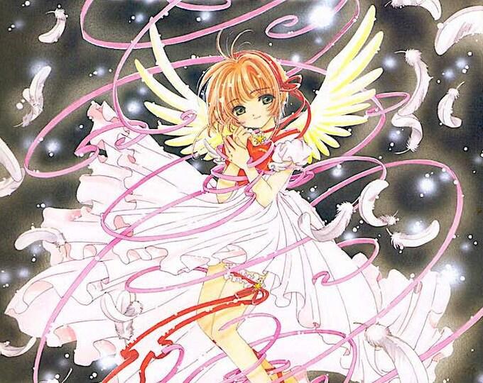 Cardcaptor Sakura 2 | Classic Anime | 2000 original print | vintage Japanese chirashi film poster