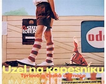 Uzel na kapesniku | 50s Czech Animation Classic, Hermína Týrlová | 2004 print, gatefold | Japanese chirashi film poster