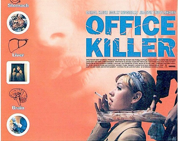 Office Killer | 90s US Cinema, Cindy Sherman | 1999 original print | vintage Japanese chirashi film poster