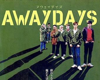 Awaydays | British Cinema, Kevin Sampson | 2020 original print | Japanese chirashi film poster