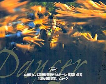 Dancer In The Dark (B) | Cult Classic, Lars von Trier, Bjork | 2000 original print | Japanese chirashi film poster
