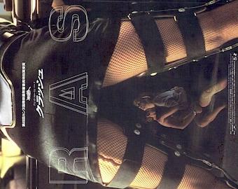 Crash (B) | 90s Cult Classic, David Cronenberg | 1997 original print | vintage Japanese chirashi film poster