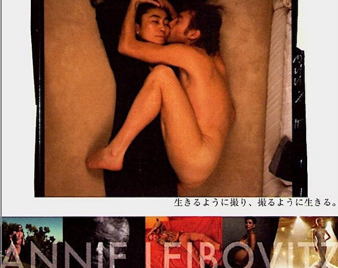 Annie Leibovitz: Life Through a Lens | Art Documentary | 2008 original print | Japanese chirashi film poster