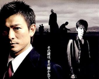 Infernal Affairs 3 | HK Cinema Classic, Andy Lau, Tony Leung | 2003 original print | Japanese chirashi film poster