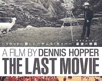 Last Movie (B) | 70s American Cinema, Dennis Hopper | 2019 print, gatefold | Japanese chirashi film poster
