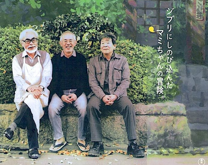 Kingdom of Dreams and Madness | Studio Ghibli Documentary | 2013 original print | Japanese chirashi film poster