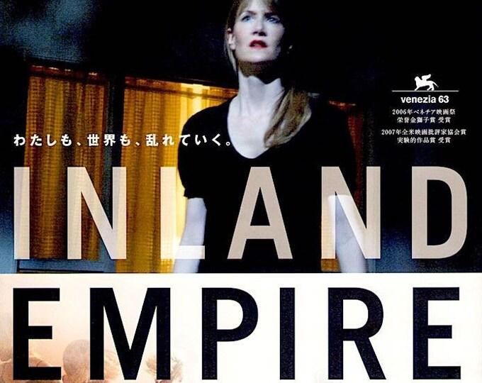 Inland Empire (A) | David Lynch, Laura Dern, Jeremy Irons |  2007 original print | Japanese chirashi film poster