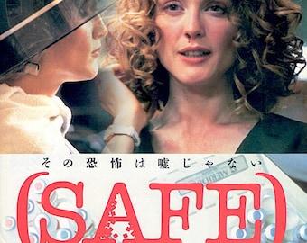 Safe | 90s Horror Classic, Todd Haynes, Julianne Moore | 1999 original print | vintage Japanese chirashi film poster