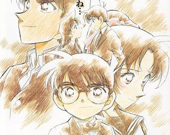 Case Closed: Crossroad in the Ancient Capital (B) | Japan Anime Series | 2003 original print | Japanese chirashi film poster