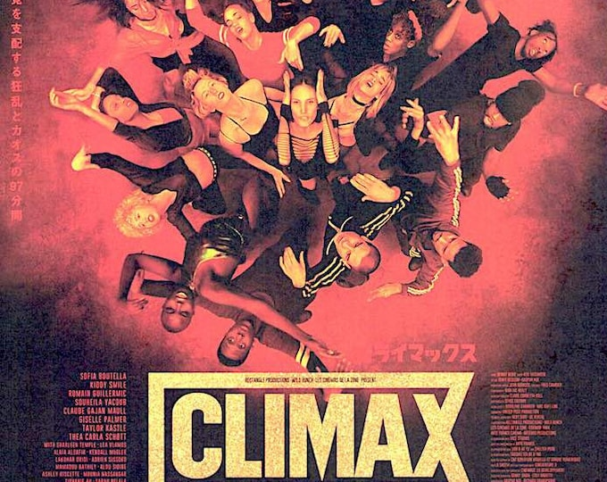 Climax (A) | French Art Cinema, Gaspar Noe | 2019 original print | Japanese chirashi film poster
