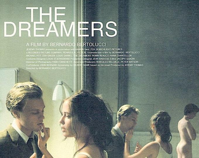 The Dreamers   Bernardo Bertolucci, Michael Pitt, Eva Green   2004 print   Japanese chirashi film poster