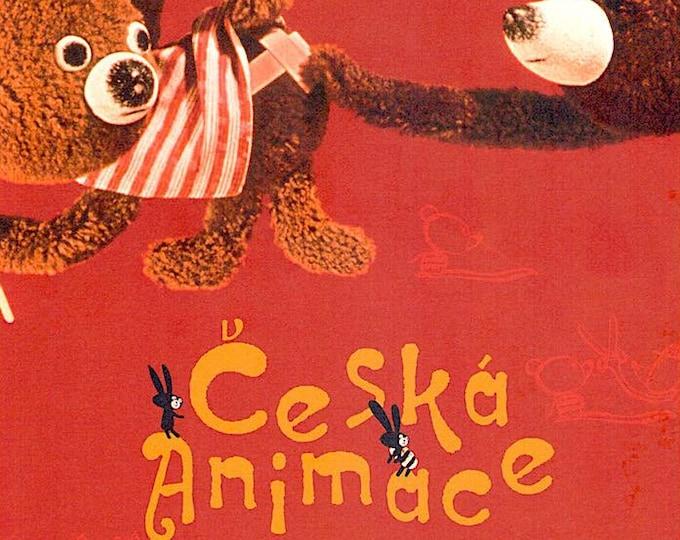Ceska Animace | Czech Animation, Jiří Trnka, Jan Svankmajer, Břetislav Pojar | 2009 print | Japanese chirashi film poster
