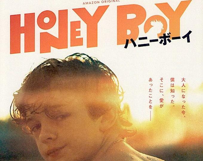 Honey Boy | US Cinema, Noah Jupe, Shia LaBeouf | 2020 original print | Japanese chirashi film poster