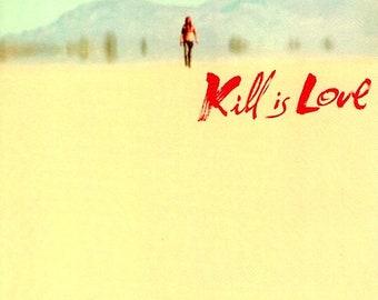 Kill Bill 2 (B) | Cult Classic, Quentin Tarantino, Uma Thurman | 2004 original print | Japanese chirashi film poster