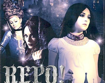 Repo A Genetic Opera | US Cult Movie, Alexa Vega | 2009 original print | Japanese chirashi film poster