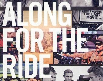 Along for the Ride | Dennis Hopper Documentary | 2019 original print | Japanese chirashi film poster