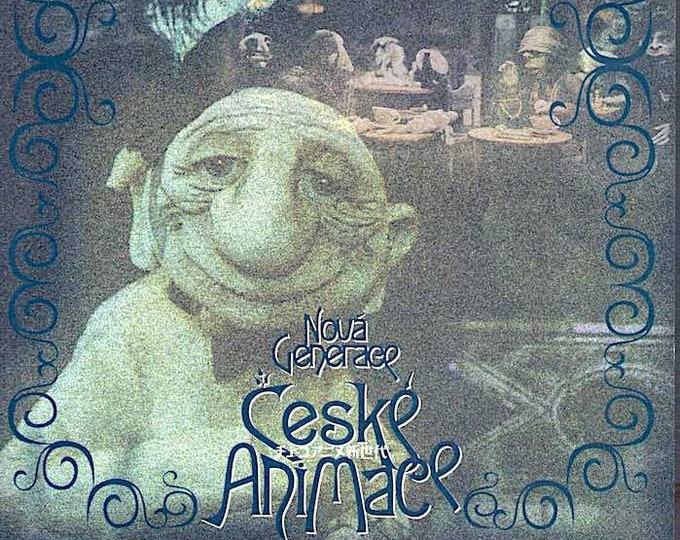 Nova Generace Ceske Animace (B) | Czech Animation, Jan Balej | 2002 print | Japanese chirashi film poster