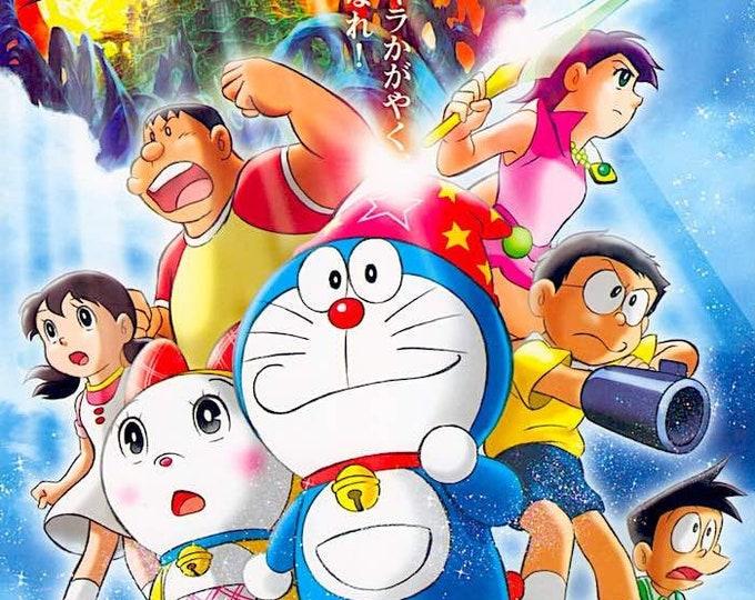 Doraemon | Classic Anime Series | 2007 original print | Japanese chirashi film poster