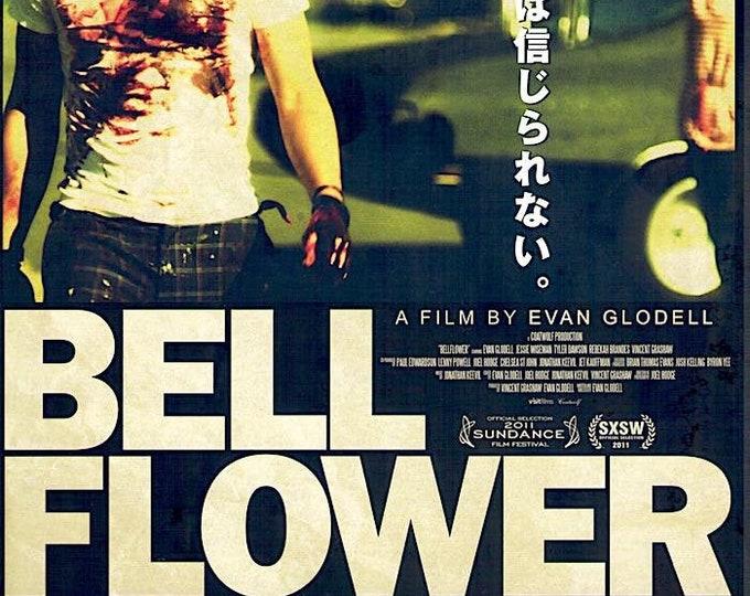 Bellflower | American Independent, Evan Glodell | 2012 original print | Japanese chirashi film poster