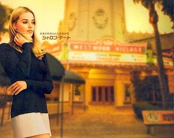 Once Upon a Time in Hollywood (B) | Brad Pitt, Leonardo DiCaprio | 2019 original print, gatefold | Japanese chirashi film poster