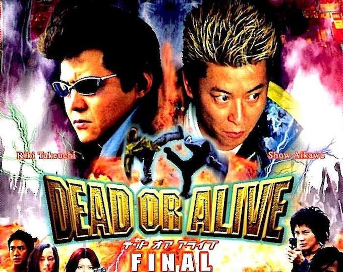 Dead or Alive: Final | Japan Cinema, Takashi Miike | 2001 original print | Japanese chirashi film poster