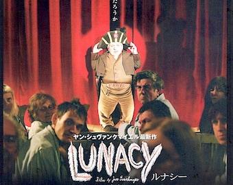 Lunacy | Czech Cinema, Jan Svankmajer | 2006 original print | Japanese chirashi film poster