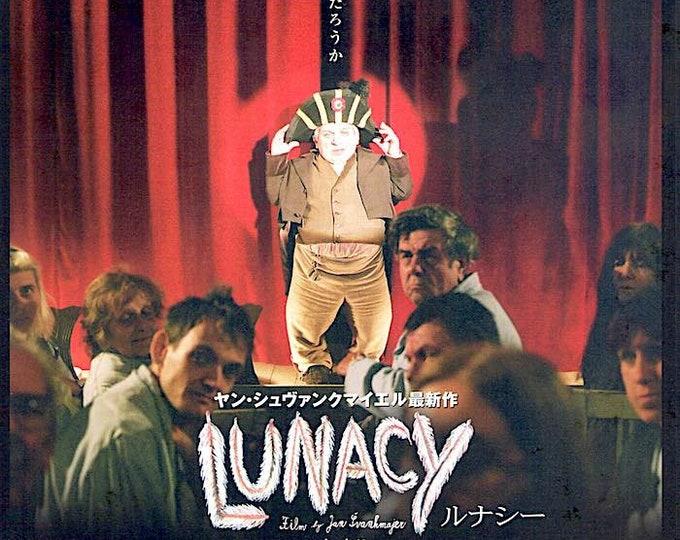 Lunacy   Czech Cinema, Jan Svankmajer   2006 original print   Japanese chirashi film poster