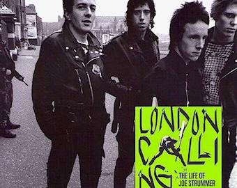 Joe Strummer: The Future Is Unwritten (A)   The Clash Documentary, Julien Temple    2007 original print   Japanese chirashi film poster