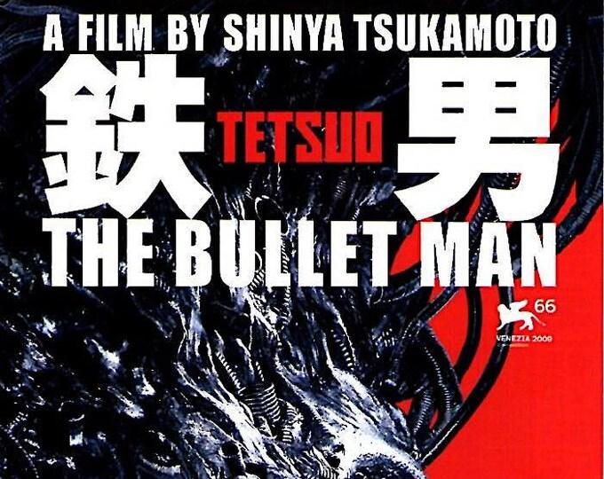Tetsuo: The Bullet Man   Japan Cult Cinema, Shinya Tsukamoto   2010 original print   Japanese chirashi film poster