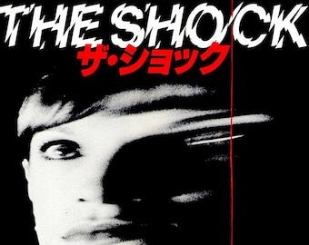 Shock | 70s Mario Bava Italian Horror, Daria Nicolodi | 1979 original print | vintage Japanese chirashi film poster
