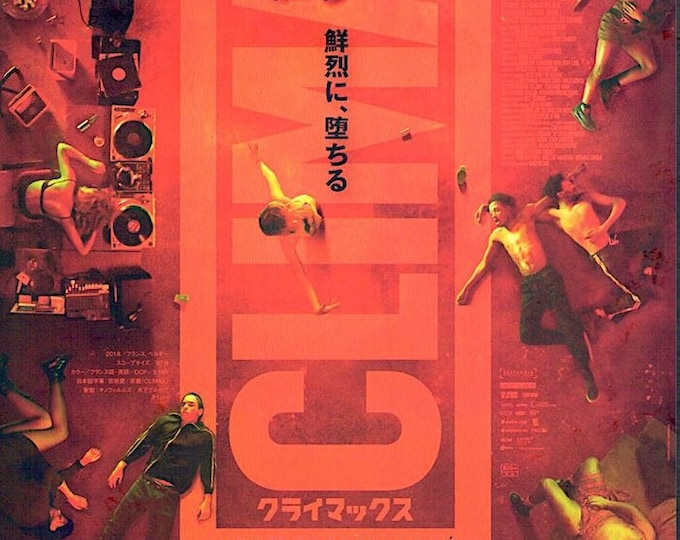 Climax (C) | French Art Cinema, Gaspar Noe | 2019 original print | Japanese chirashi film poster