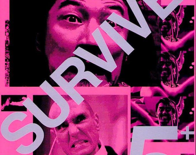 Survive Style 5+ | Japan Cinema, Tadanobu Asano, Vinnie Jones | 2004 original print | Japanese chirashi film poster