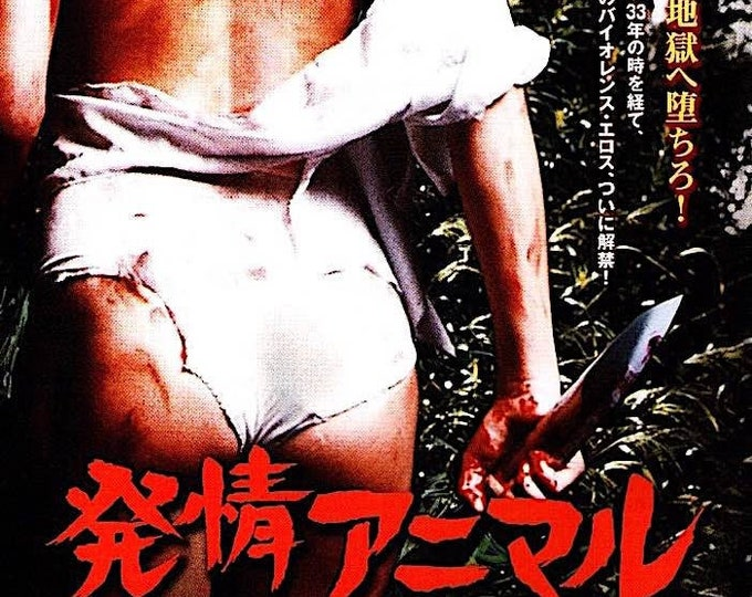 I Spit on Your Grave   70s Cult Movie, Camille Keaton   2012 print   Japanese chirashi film poster