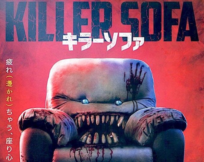 Killer Sofa | Kiwi Comedy Horror, Bernie Rao | 2020 original print | Japanese chirashi film poster