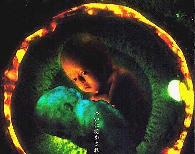 Ringu 0 | Japan J-Horror Cinema, Yukie Nakama | 2000 original print, gatefold | vintage Japanese chirashi film poster