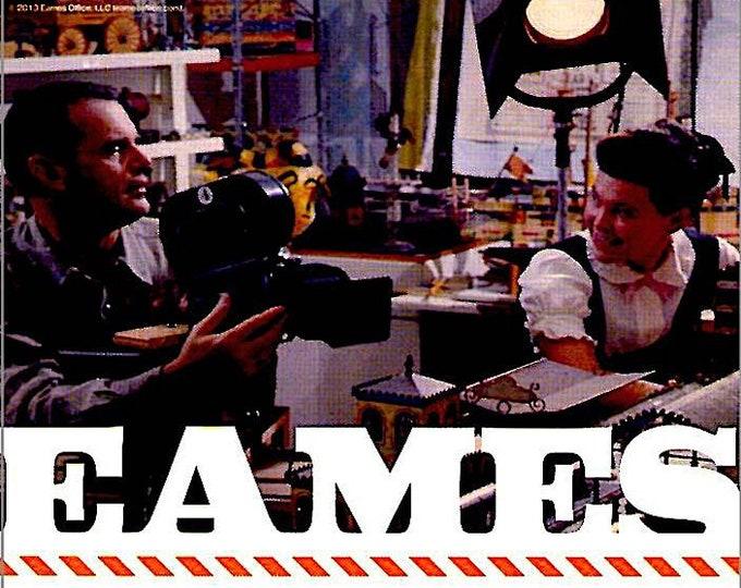 Eames: The Architect & The Painter | Midcentury Art Documentary | 2013 original print | Japanese chirashi film poster