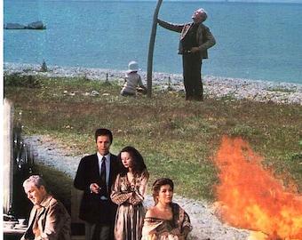 Sacrifice | 80s Classic, Andrei Tarkovsky | 1988 print | vintage Japanese chirashi film poster