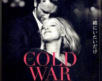 Cold War | Polish Cinema, Pawel Pawlikowski | 2019 original print | Japanese chirashi film poster