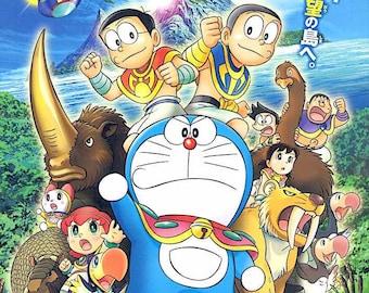 Doraemon | Classic Anime Series | 2012 original print | Japanese chirashi film poster