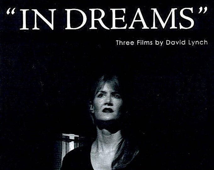 In Dreams | David Lynch Retrospective, Laura Dern |  2007 original print | Japanese chirashi film poster