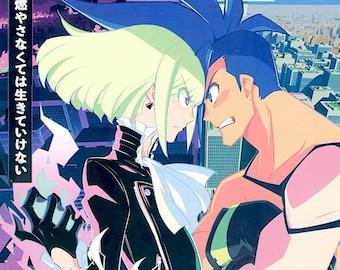 Promare (A) | Japan Anime, Studio Trigger | 2019 original print | Japanese chirashi film poster