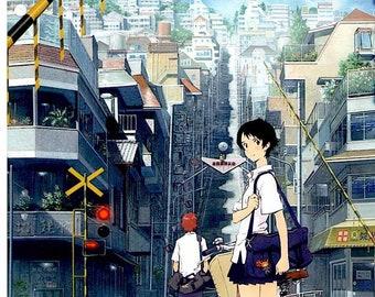 Girl who Leapt Through Time (C) | Japan Anime, Mamoru Hosoda | 2021 print | Japanese chirashi film poster