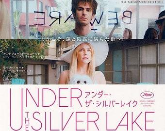 Under the Silver Lake (B)   David Robert Mitchell, Andrew Garfield   2018 original print   Japanese chirashi film poster