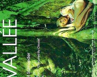 La Vallée | 70s French Cinema, Bulle Ogier, Barbet Schroeder | 2007 original print | Japanese chirashi film poster