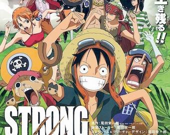 One Piece: Strong World | Japan Anime Series | 2009 original print | Japanese chirashi film poster