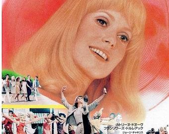 Young Girls of Rochefort | 60s French Classic, Catherine Deneuve | 2000 print | Japanese chirashi film poster