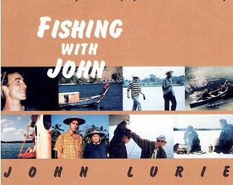 Fishing with John | 90s Cult Series, John Lurie, Jim Jarmusch | 1998 original print | Japanese chirashi film poster
