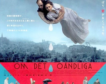 About Endlessness | Swedish Cinema, Roy Andersson | 2020 original print | Japanese chirashi film poster