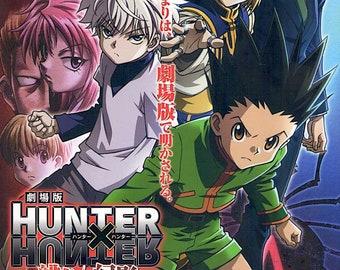 Hunter × Hunter: Phantom Rouge | Japan Anime Series | 2013 original print | Japanese chirashi film poster